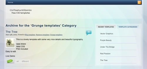 Free CSS Template