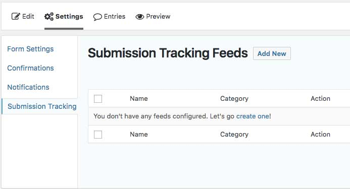 Submission Tracking-اتصال Gravity Forms به گوگل آنالیتیکس